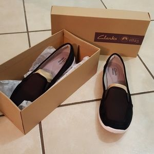 Clark's great condition slip on shoes